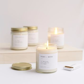 Pick 3 Minimalist Jar Candles
