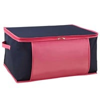 Blanket Bag - Navy/Fucshia