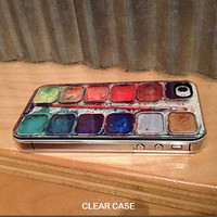 iphone 4s case - Watercolor Set iPhone Case -  iphone 4 case