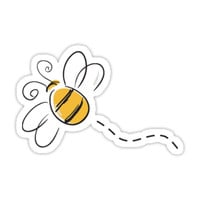 'bee' Sticker by emilyweis1001