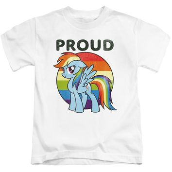My Little Pony Boys T-Shirt Proud White Tee