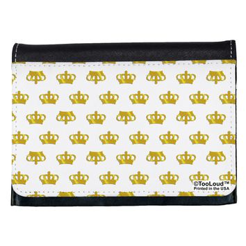 Gold Crowns AOP Ladies Wallet All Over Print by TooLoud