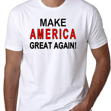 Make America Great Again T-Shirt - Quote by President Donald Trump