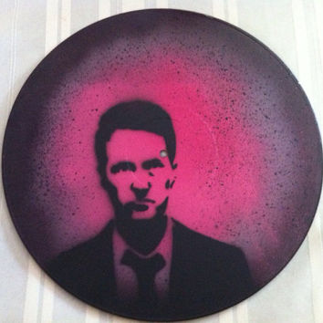 Fight Club Record Painting