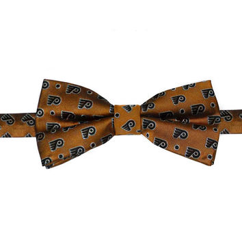 Philadelphia Flyers NHL Stylish Bow Tie