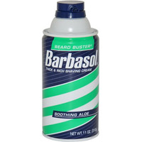 Men Barbasol Soothing Aloe Thick & Rich Shave Cream