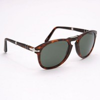 Persol 0714 Folding (Havana Crystal Green) from Oi Polloi