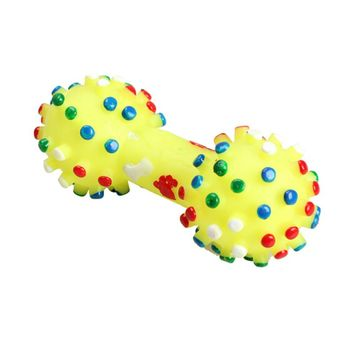 Colorful Dotted Dumbbell Shaped Toys
