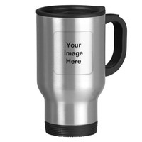 Personalized Stainless Steel Travel Coffee Mug