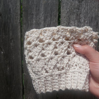 Crochet boot cuffs, boot socks, boot toppers, USA shipping included in price!