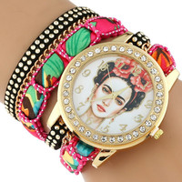Beautiful Ethnic Frida Kahlo Womens Watch