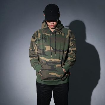 Men's Fashion Winter Pullover Camouflage hoodie Coat [8822223683]