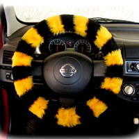 Steering Wheel Cover Bow Wheel Car Accessories Lilly Heated For Girl Interior Aztec Monogram Tribal Camo Cheetah Sterling Chevron Bee Yellow