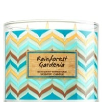 3-Wick Candle Rainforest Gardenia