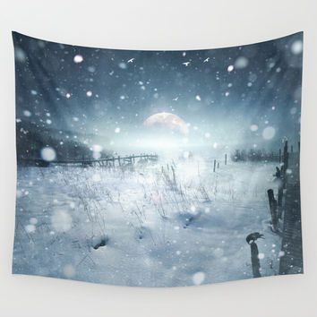 When she turned on me Wall Tapestry by HappyMelvin | Society6