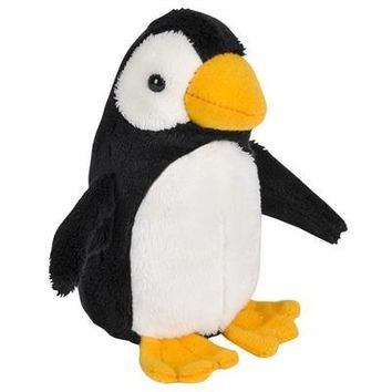 Wildlife Tree 3.5 Inch Penguin Mini Small Stuffed Animals Bulk Bundle of Zoo Animal Toys or Arctic Animal Party Favors for Kids Pack of 12