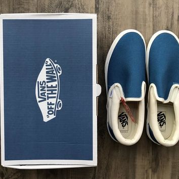 vans vault slip on og canvas casual sneaker