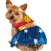Wonder Woman Dog Pet Costume