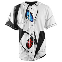 Naruto Button Up Baseball Jersey