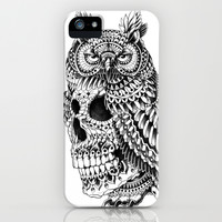 Great Horned Skull iPhone & iPod Case by BioWorkZ