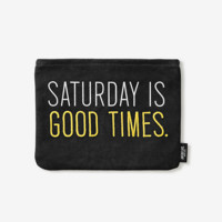 Kate Spade Saturday On Purpose Saturday Is Good Times Pouch