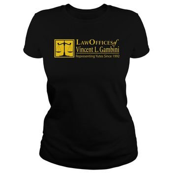 Law offices of Vincent L.Gambini shirt Premium Fitted Ladies Tee
