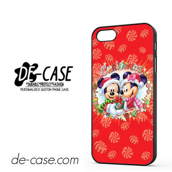 Mickey And Minnie Mouse Disney Christmas For Iphone 5 Iphone 5S Case Phone Case Gift Present