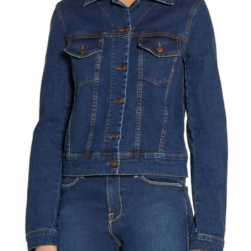 Winona embroidered denim jacket | Preen Line | US | THE OUTNET