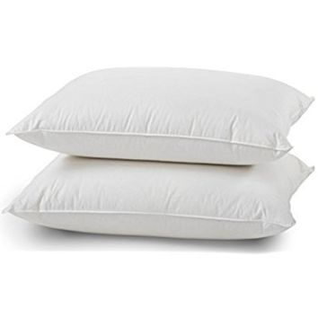 Superior White Goose Down Pillow 650 Fill Power- Standard Size – Set of 2