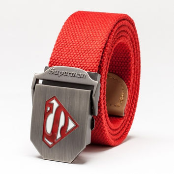 Superman Belt Fashion Man Belts,Canvas Hip Belt, Kids belt, fashion belt = 1946034884