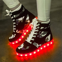 Stylish Hot Deal On Sale Comfort Hot Sale Casual Shoes High-top Multi-color Lightning Sneakers [9257112972]
