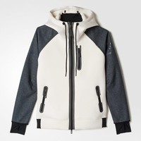 adidas Standard 19 Perfect Hoodie - White | adidas US