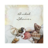 Seashells Bridal Shower Invitations from Zazzle.com