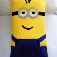 Minions Fleece Pillow Case, Despicable Me