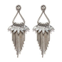 Chained Chandelier Earrings