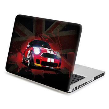 Hard Case Print Frosted (Mini Cooper Image) for 13 MacBook Pro