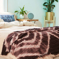 Rosa Eyelash Fringe Throw Blanket | Urban Outfitters