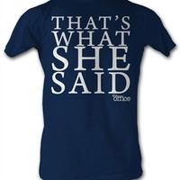 The Office She Said T-Shirt at Old School Tees