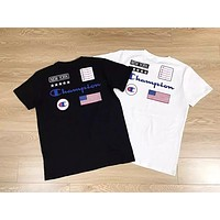 2019 Champion USA Flag Tshirt M--XXL