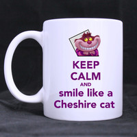 Cheshire Cat Alice in Wonderland Ceramic Mug 11 oz