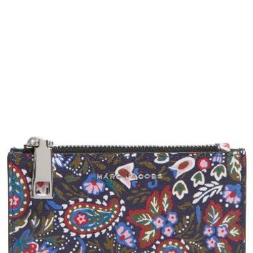 MARC JACOBS Garden Paisley Leather Cosmetics Case | Nordstrom