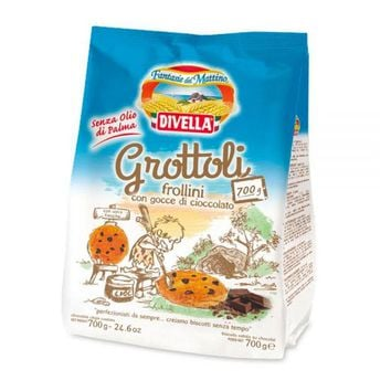 Divella Grottoli Chocolate Chip cookies, 24.6 oz (700 g)