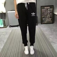 """Adidas"" Women Sport Casual Sweatpants Leisure Pants Trousers"