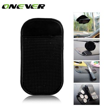 Onever Car Silicone Paste Pad Non-slip Mat Dashboard Windshield Sticky Pad Mobile Anti-slip Magic Mat for iphone6 7 7 plus