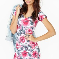 Motel Coming Up Roses Dress