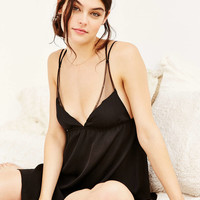 Out From Under Satin Slip - Urban Outfitters