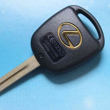3 Buttons Car Remote Key Shell Case Keys Fob Blank Cover Fit For Lexus RX300 ES300 Free Shipping