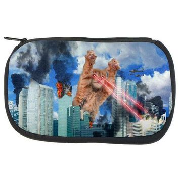 CREYCY8 Giant Cat Laser Rampage and Destroy Makeup Bag