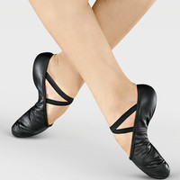 Free Shipping - Adult Split-Sole Leather Ballet Slipper by SO DANCA