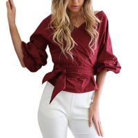 Off shoulder ruffle white blouse Sexy cotton cool blouse shirt women Spring 2017 female strappy top tees blusas